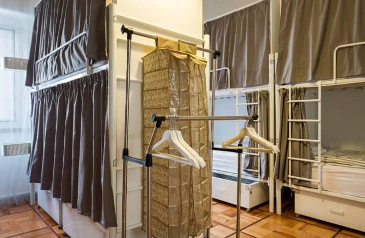 Cama em Dormitório Masculino com 10 Camas