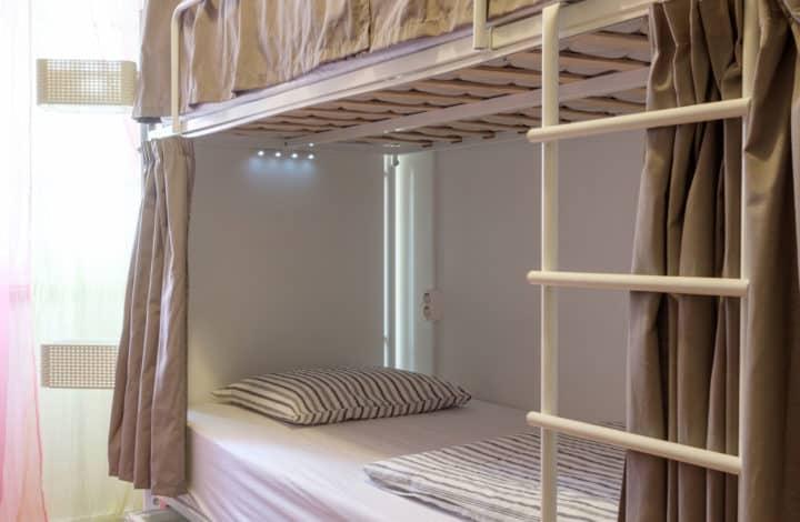 Cama em Dormitório Feminino com 4 Camas